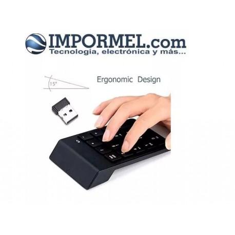 Impormel Teclado Numérico Inalambrico 18 Teclas Pc Laptop