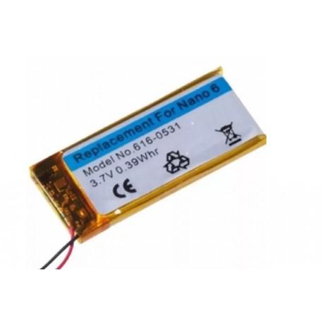 Bateria Para Ipod Nano 6 6ta Generacion 616-0531