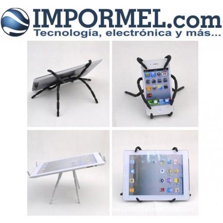 Soporte Celular Tablet Universal Flexible Araña